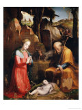 Adoration of the Child Giclee Print by Domenico Beccafumi