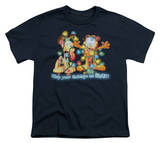 Youth: Garfield - Bright Holidays T-shirts