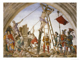 Scenes from the Life of Saint Philip: Crucifixion of the Saint Giclee Print by Filippino Lippi