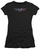 Juniors: Lethal Threat - USA Tribal Butterfly T-shirts