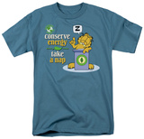 Garfield - Conserve Energy T-shirts