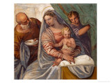 Madonna Della Pappa Giclee Print by Paolo Veronese