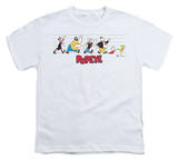 Youth: Popeye - The Usual Suspects T-shirts