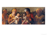 Holy Family Giclee Print by Andrea Mantegna