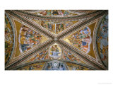 Soffitto Con Cristo Giudice Reproduction proc&#233;d&#233; gicl&#233;e par Angelico &amp; Strozzi 