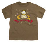 Youth: Garfield - Way Beyond Help T-shirts