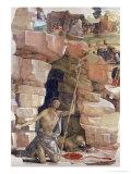 St. Jerome in the Wilderness Giclee Print by Bartolomeo Della Gatta