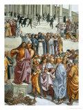 Fatti Dell'Anticristo Giclee Print by Luca Signorelli