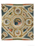 Soffitto Giclee Print by Bernardino di Betto Pinturicchio