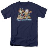 Garfield - Bright Holidays T-shirts