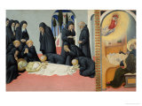 Death of Saint Jerome Giclee Print by  Sano di Pietro
