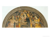 Madonna and Child with Angels Giclee Print by Bernardino di Betto Pinturicchio