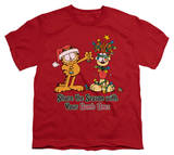 Youth: Garfield - Share the Season T-shirts