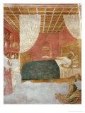 Storie Della Vita Di S. Ambrogio: La Morte Del Santo Giclee Print by Tommaso Masolino Da Panicale