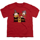 Youth: Garfield - Trick or Treat T-shirts