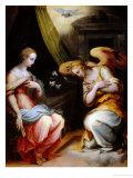 Annunciation Giclée-Druck von Giorgio Vasari