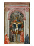Holy Trinity Giclée-tryk af Masaccio