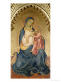 Madonna and Child Giclee Print by Lorenzo Monaco
