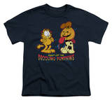 Youth: Garfield - Drooling Pumpkins T-shirts