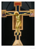 Crucifix Gicl&#233;e-Druck von Giotto di Bondone 