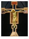 Crucifix Giclee Print by  Giotto di Bondone