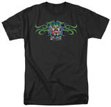Lethal Threat - Green Tribal Clown T-Shirt