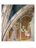 Storie Della Vita Di S. Ambrogio: La Nascita Del Santo Giclee Print by Tommaso Masolino Da Panicale