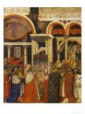 Ferial Altarpiece Giclée-tryk af Paolo Veneziano
