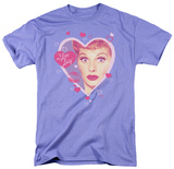 I Love Lucy - Kissing Hearts T-shirts