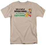 Garfield - Difficult Choices T-shirts