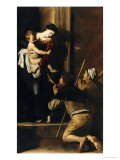 Madonna Dei Pellegrini Giclee Print by Caravaggio 