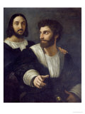 Double Portrait Reproduction procédé giclée par  Raphael