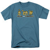 Garfield - Hello and Goodbye T-shirts