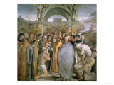 Baptism of Saint Augustine Giclee Print