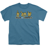 Youth: Garfield - Hello and Goodbye T-shirts