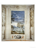 Landscape and Dog Giclee Print by Paolo Veronese