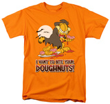 Garfield - I Vant Doughnuts T-shirts