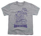 Youth: Garfield - King of the Grill Shirts