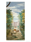 Landscape with Carriage Giclee Print by Paolo Veronese