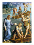 Calling of St. Peter and St. Andrew Giclee Print by Giorgio Vasari