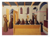Scene from the Story of the Miser's Soul Giclee Print by  Sassetta