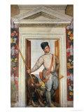 Presumed Self-Portrait Dressed as a Hunter Giclée-Druck von Paolo Veronese