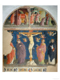Christ Crucified and Saints Giclee Print