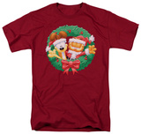 Garfield - Christmas Wreath T-shirts