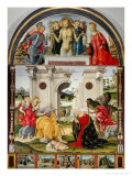 Adoration of the Shepherds Reproduction procédé giclée par Francesco di Giorgio Martini