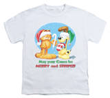 Youth: Garfield - Merry and Striped T-Shirt