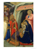 Adoration of the Magi (stained glass) Reproduction procédé giclée par Pietro Lorenzetti