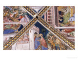Scenes from the Life of Joachim and Anne: Meeting at the Golden Gate Giclee Print by Ottaviano Di Martino Nelli