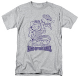 Garfield - King of the Grill T-shirts