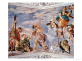 Ceiling of the Room of Bacchus Giclée-Druck von Paolo Veronese